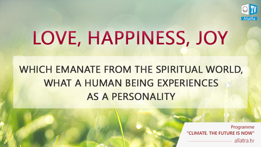 Spiritual freedom is Love, happiness and joy which emanate from Spiritual World