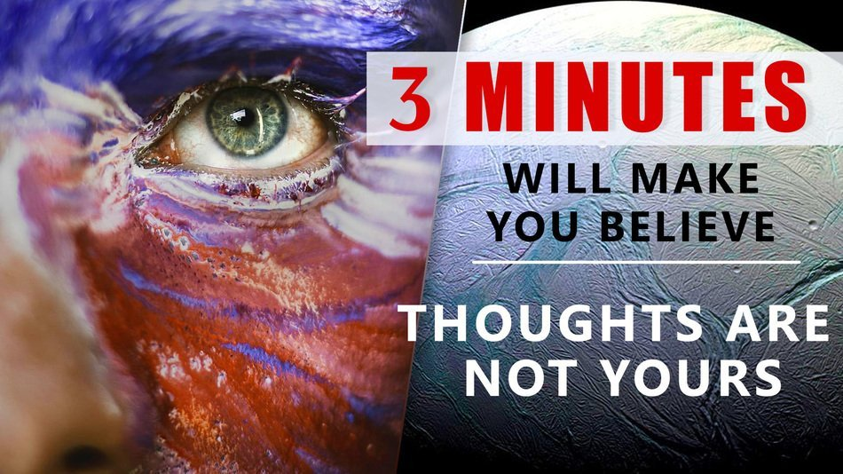 You are not your thoughts!