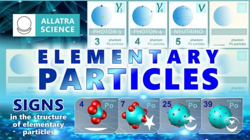 Elementary Particles. AllatRa Physics