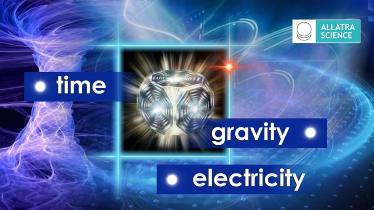 Gravity. Time. Electricity. AllatRa Physics