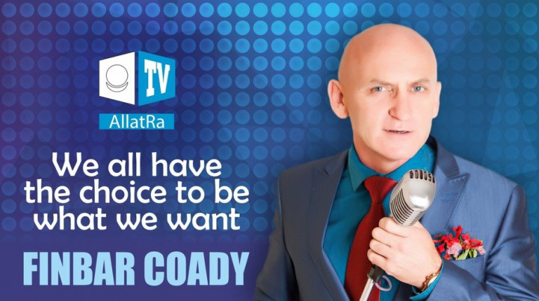 "Finbar Coady: ""We all have the choice to be what we want"" 