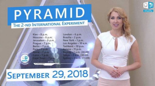 The Second International PYRAMID Experiment on telepathic transmission of information. Sept.29, 2018