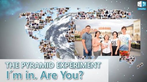 АLLATRA TV INVITES. THE PYRAMID EXPERIMENT. I´m in. Are You?