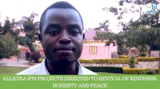 "Julias, Uganda ""ALLATRA IPM  projects directed to revival of kindness, honesty and peace"""