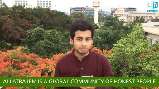 "Ajay, India ""ALLATRA IPM – global community of open and honest people from the whole world"""
