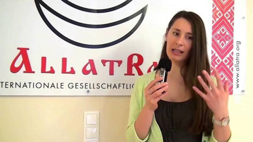 "Antonina, Berlin (Germany) about ALLATRA IPM: ""To emphasize what brings us closer together"""