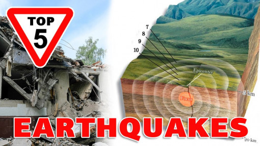 The TOP 5 of the most powerful earthquakes in the entire history of seismic observations
