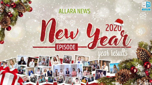 ALLATRA News. Yearly events digest. New Year's episode 2020