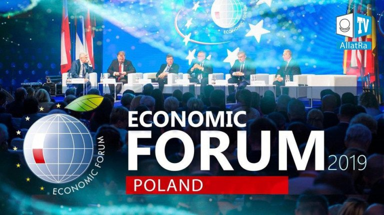 Building a sustainable society of the future. Economic Forum in Poland 2019