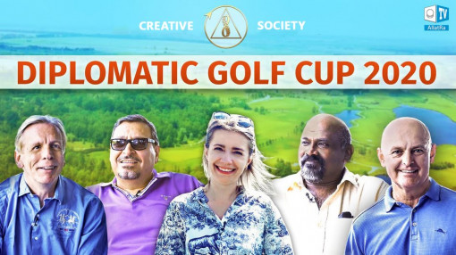 Diplomatic Golf Cup 2020. Creative society