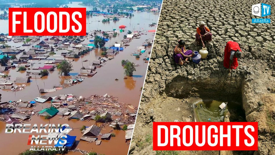 URGENT! Climatic CATASTROPHES of 2019: Floods, Droughts and MELTING GLACIERS