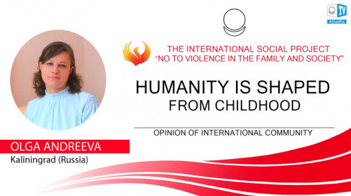 HUMANITY IS SHAPED FROM CHILDHOOD