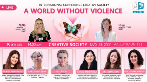 International Conference Creative Society - a World Without Violence