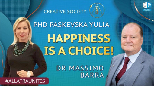 How to be happy? Doctor Masimmo Barra and phycologist Paskevska Yulia