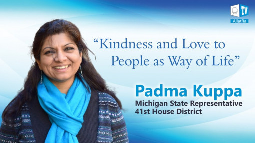 Try to be kind in your thoughts, in your words, in your deeds. Padma Kuppa about the most important.