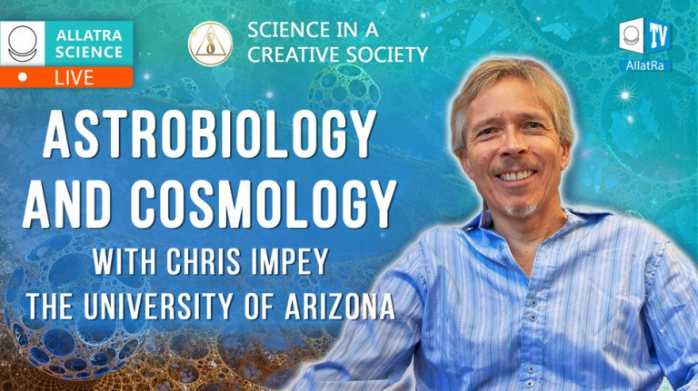 Astrobiology and Cosmology with Chris Impey (Arizona)