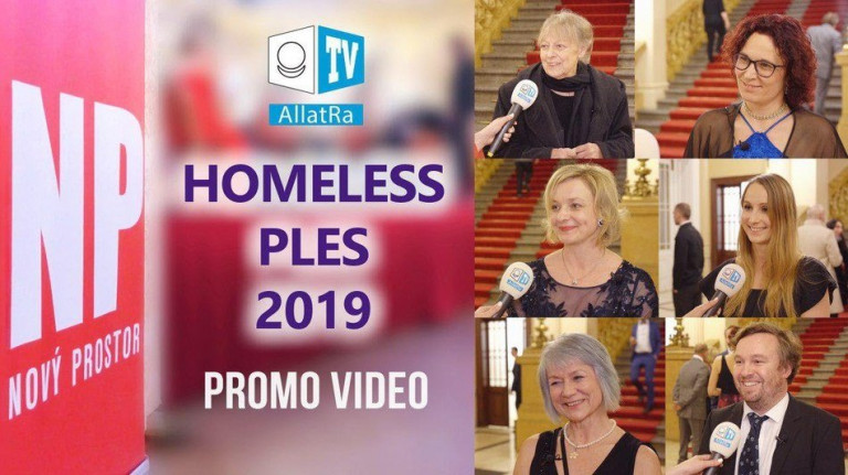 Homeless ples Nový Prostor | Promo video ALLATRA TV