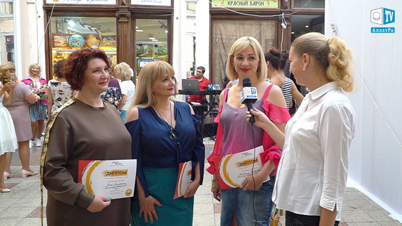 "ALLATRA TV na ODESSA REVIEW ""Fashion and cultural Passage"""
