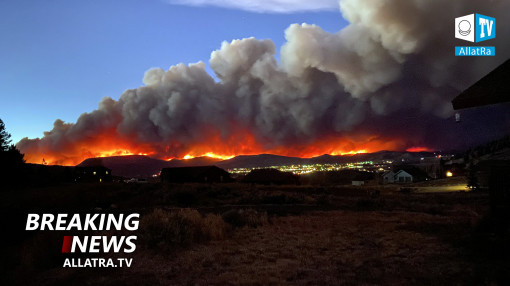 Fires in Colorado, USA. Melting glaciers in Switzerland 2020 | Tropical Storm Nangka → China,Vietnam