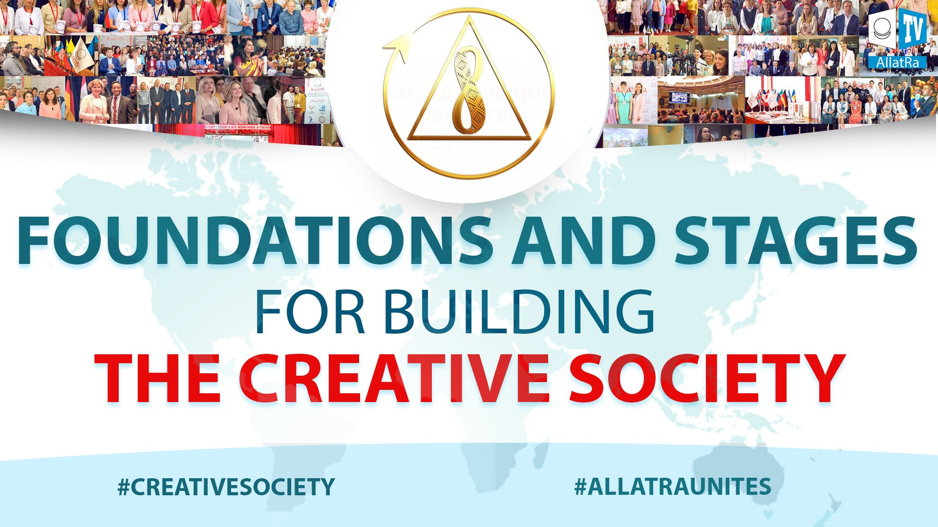 Global change. Building the best future for humanity. Creative Society