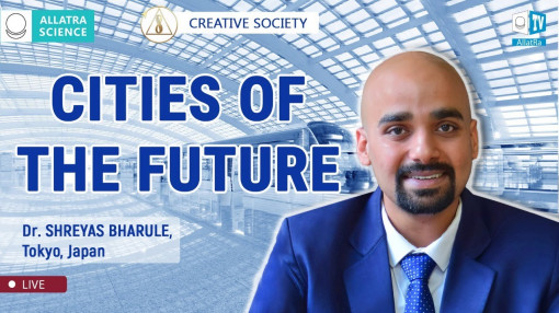 City Infrastructure of the Future. Dr. Shreyas Bharule, India / Japan