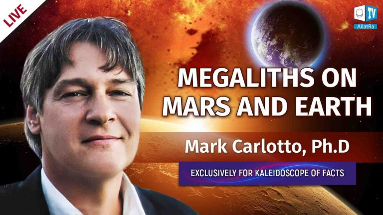Archaeological enigmas on Mars and Earth. Dr. Mark Carlotto
