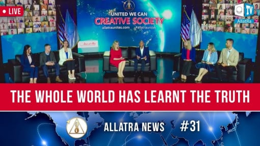 "THE WHOLE WORLD HAS LEARNT THE TRUTH. Conference ""Creative Society. United We Can"" 