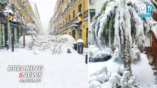 RED danger level. Abnormal snowfalls in Spain, Japan. Floods in Saudi Arabia