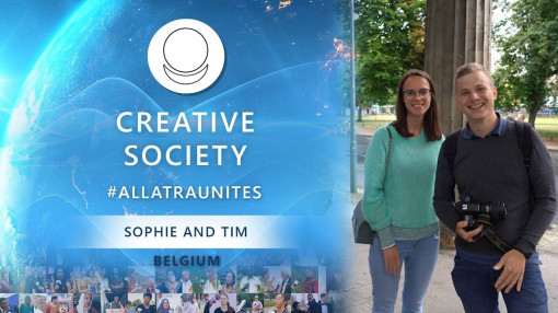 Social Survey on Creative Society. Sophie and Tim, Belgium