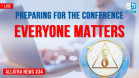 Preparing for the conference – simple and effective actions for everyone | ALLATRA News. LIVE #34