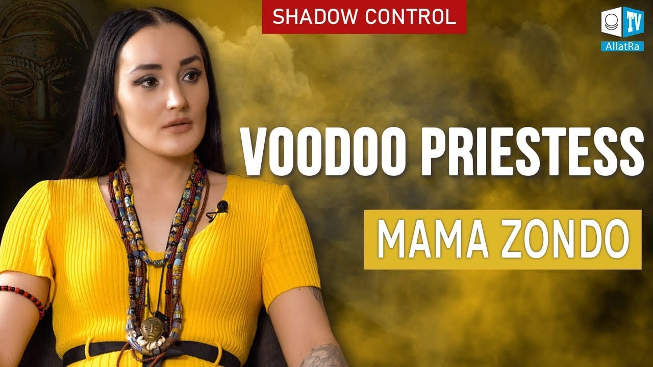 Shadow Control. Voodoo priestess Mama Zondo. Behind the Veil of Magic Secrets
