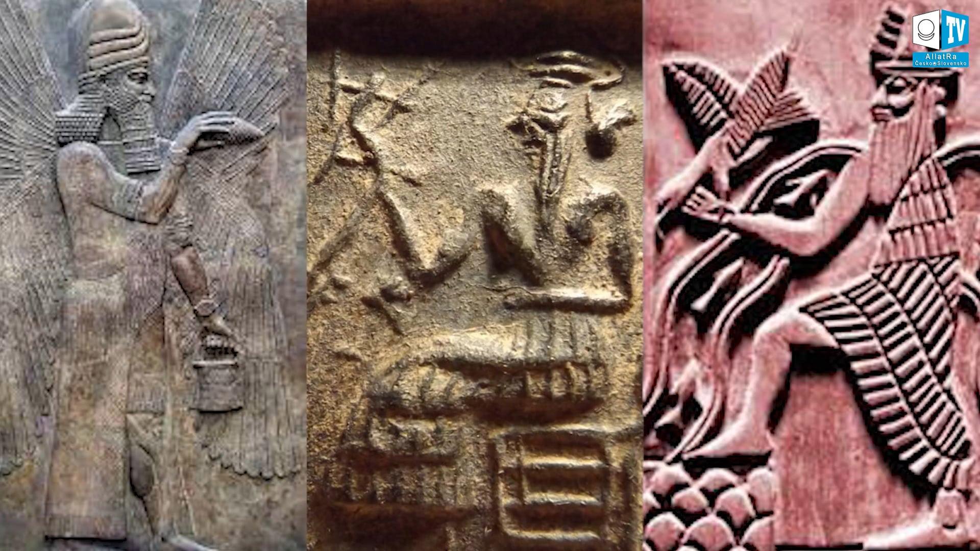 Symboly moci. Foto