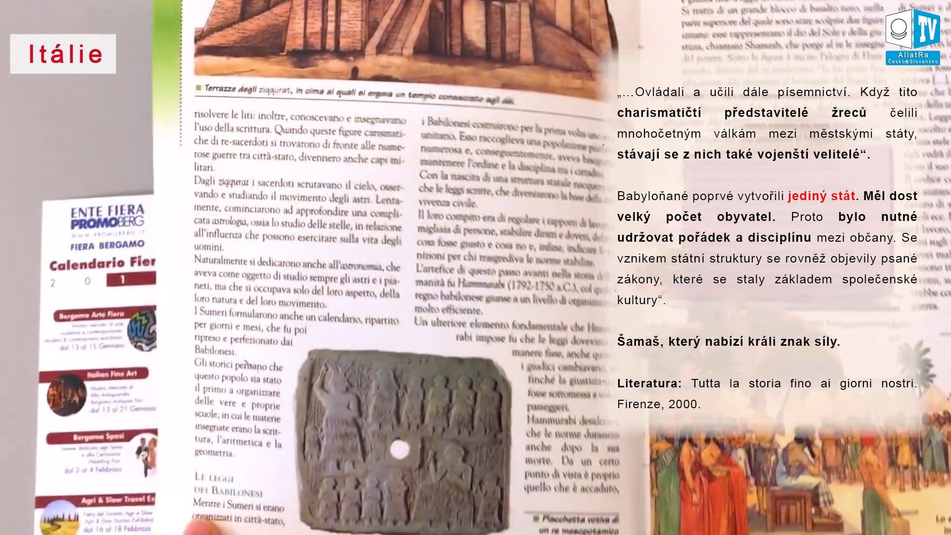 První babylonský stát. Foto