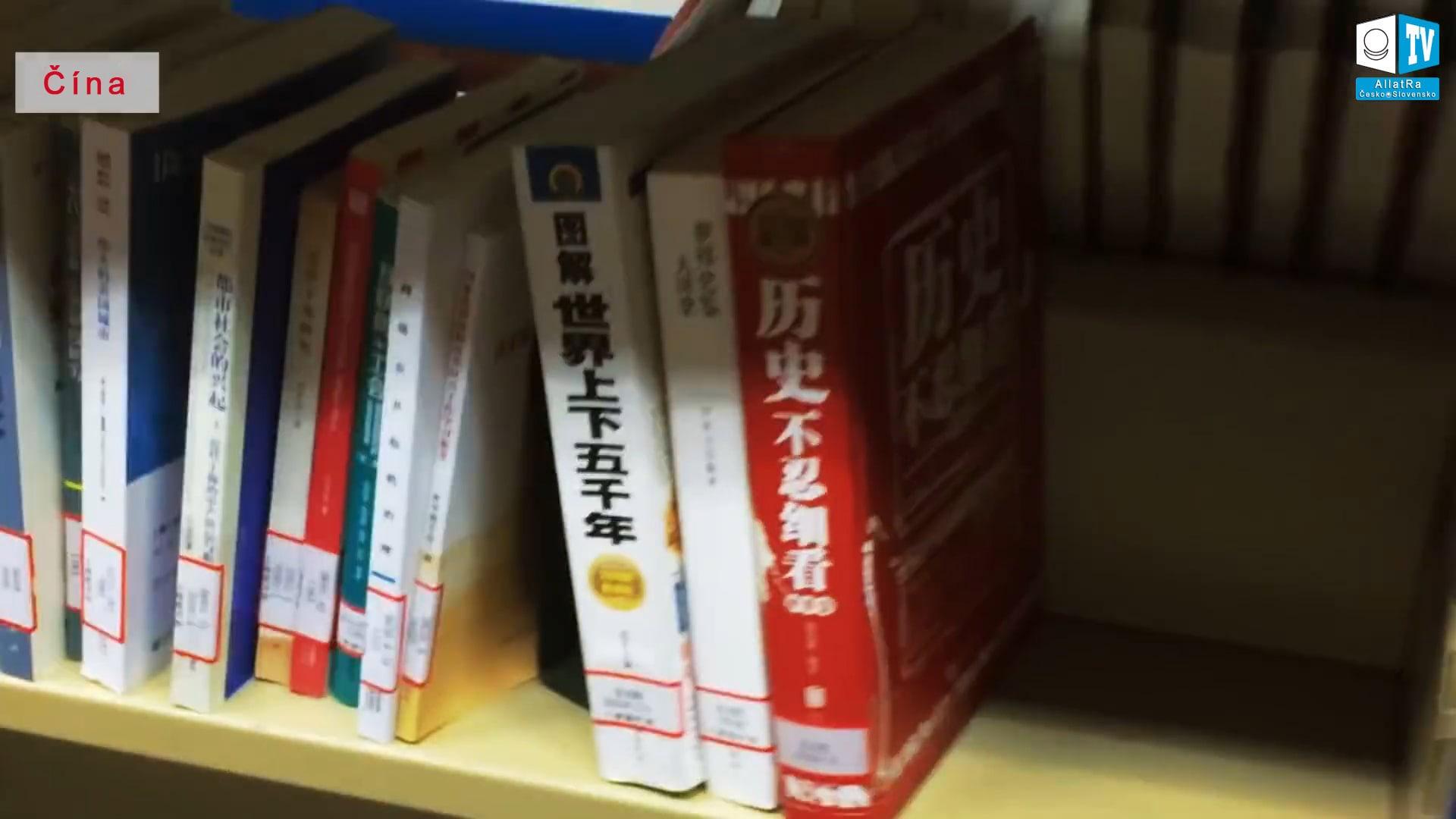 Knihy z historie - Čína. Foto