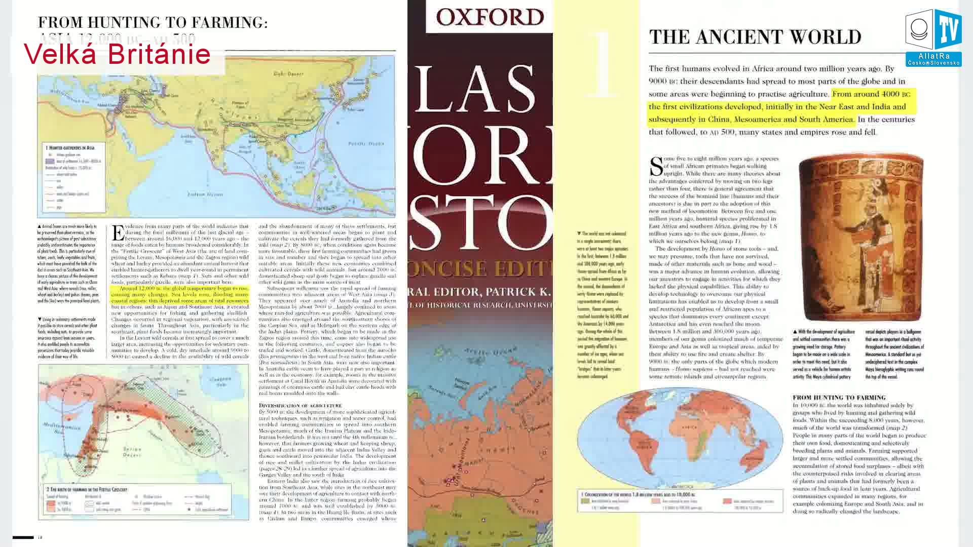 Starověký svět. Historie. Foto