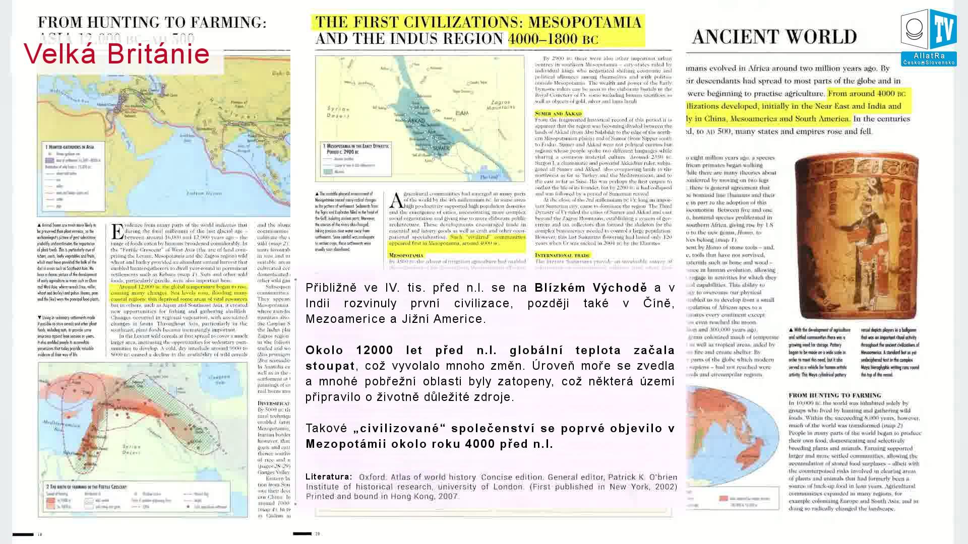 Starověký svět. První civilizace