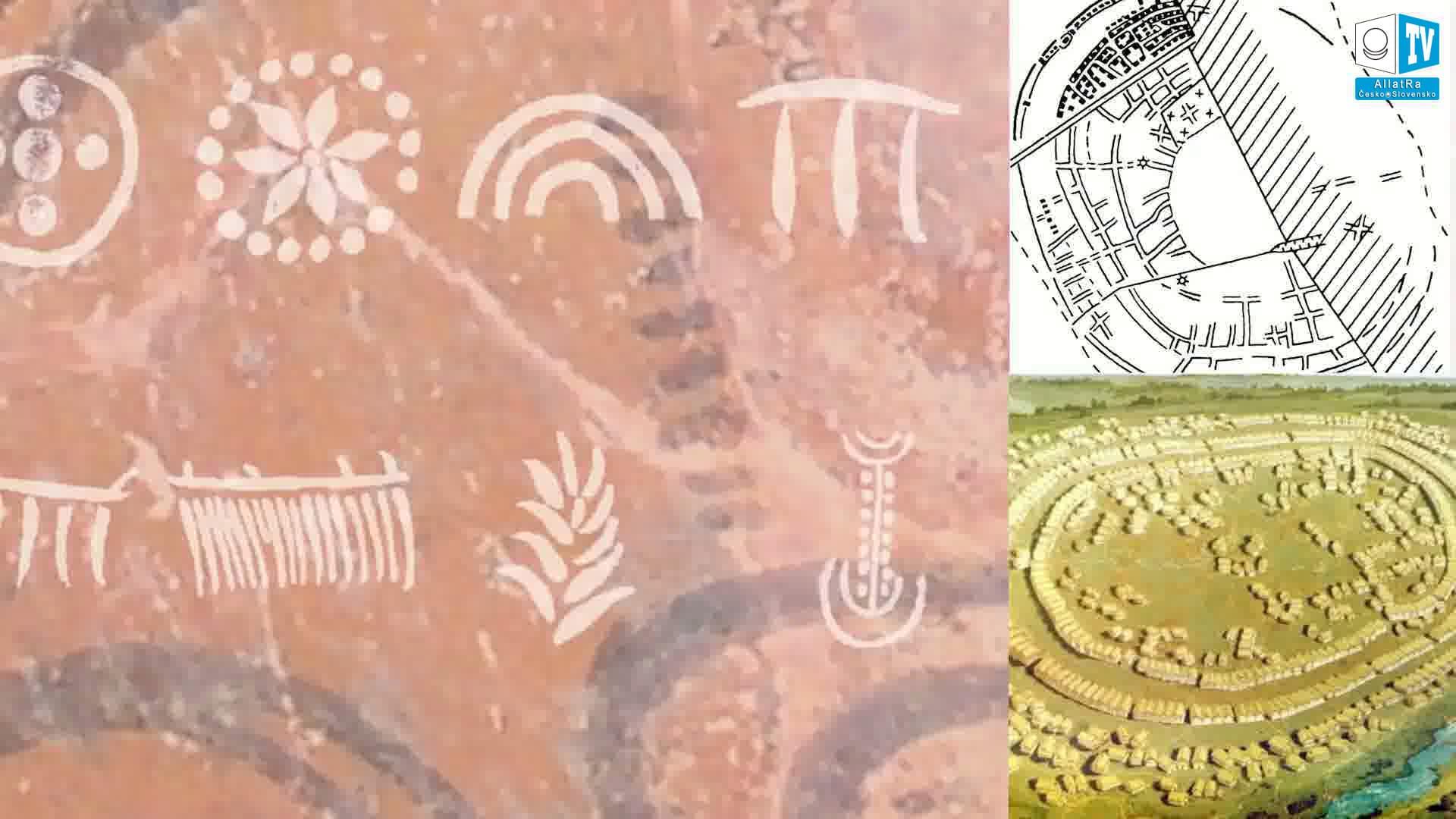 Tripolské symboly. Foto