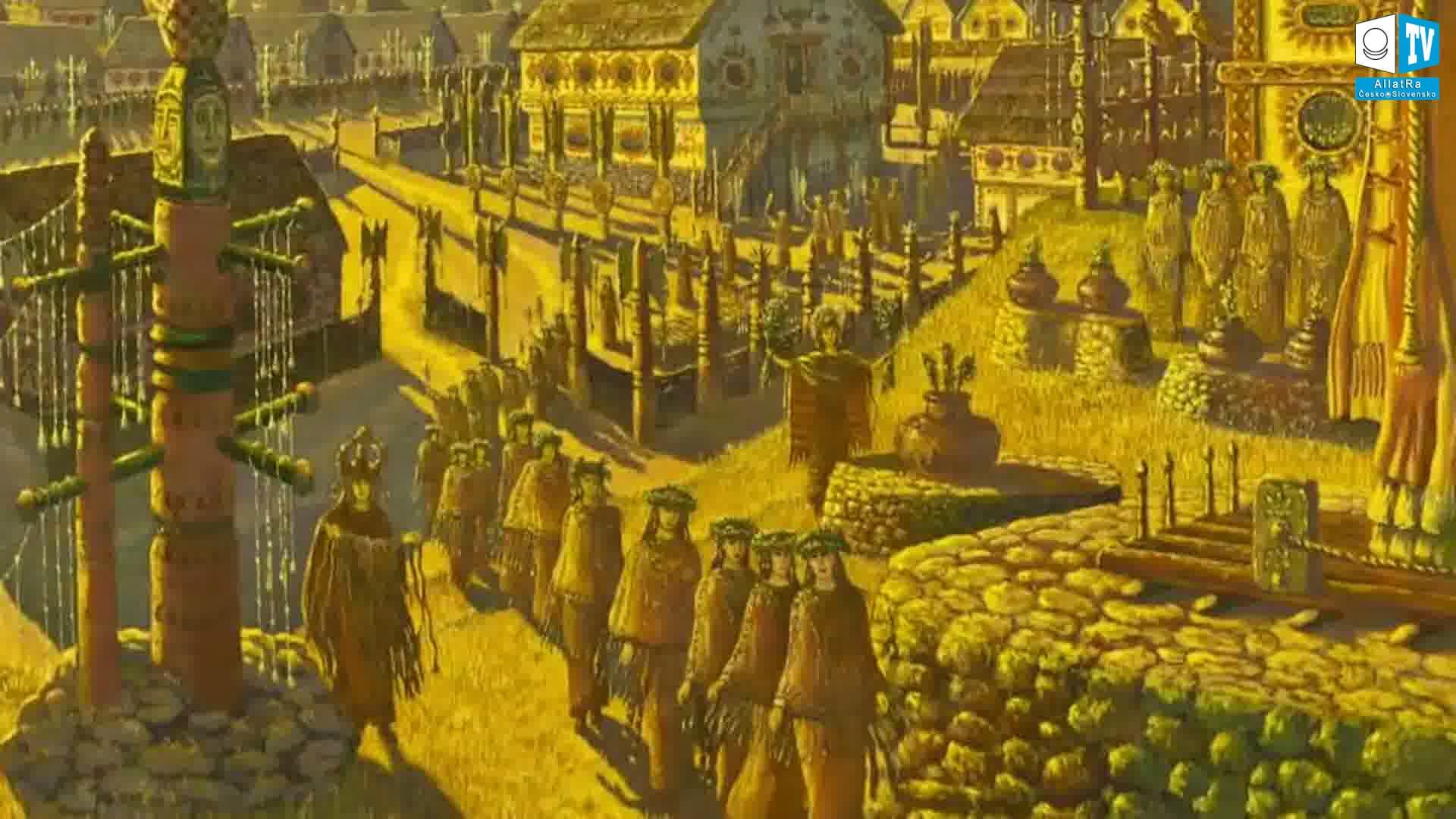 Starověká města. Foto