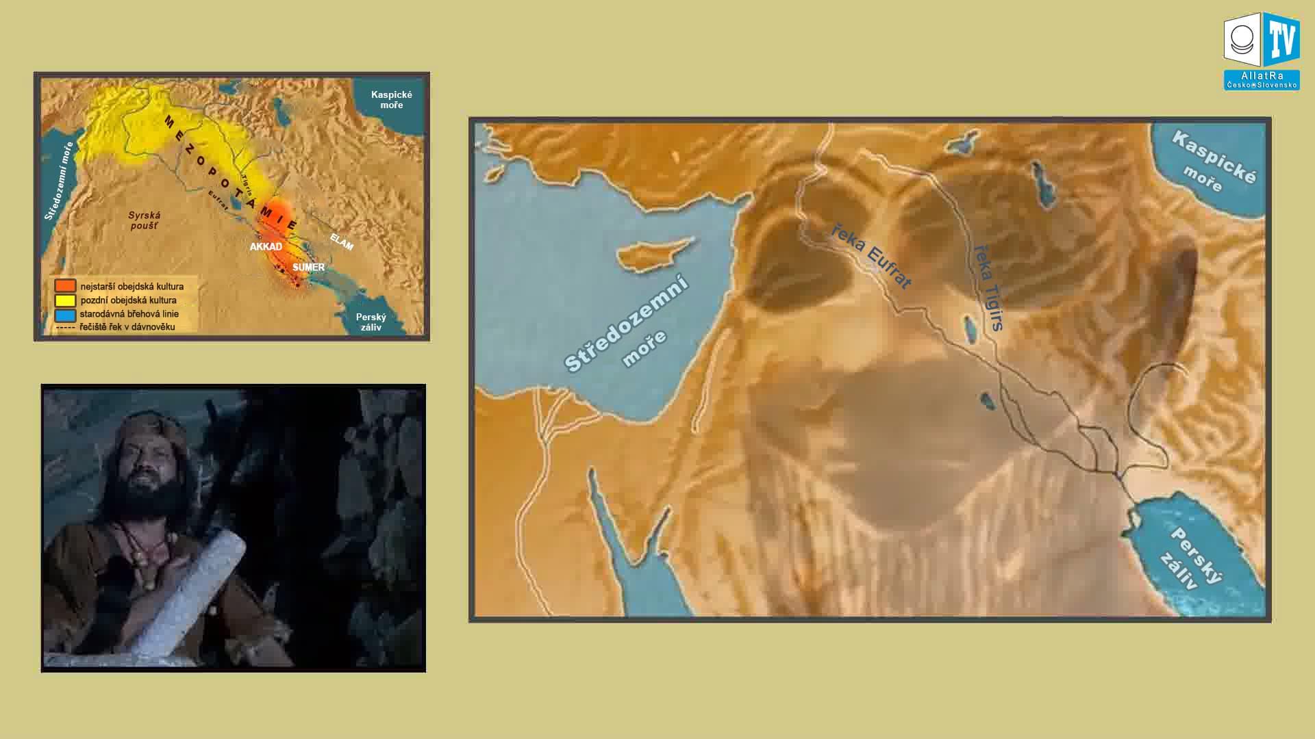 Řeky Tigris a Eufrat. Foto