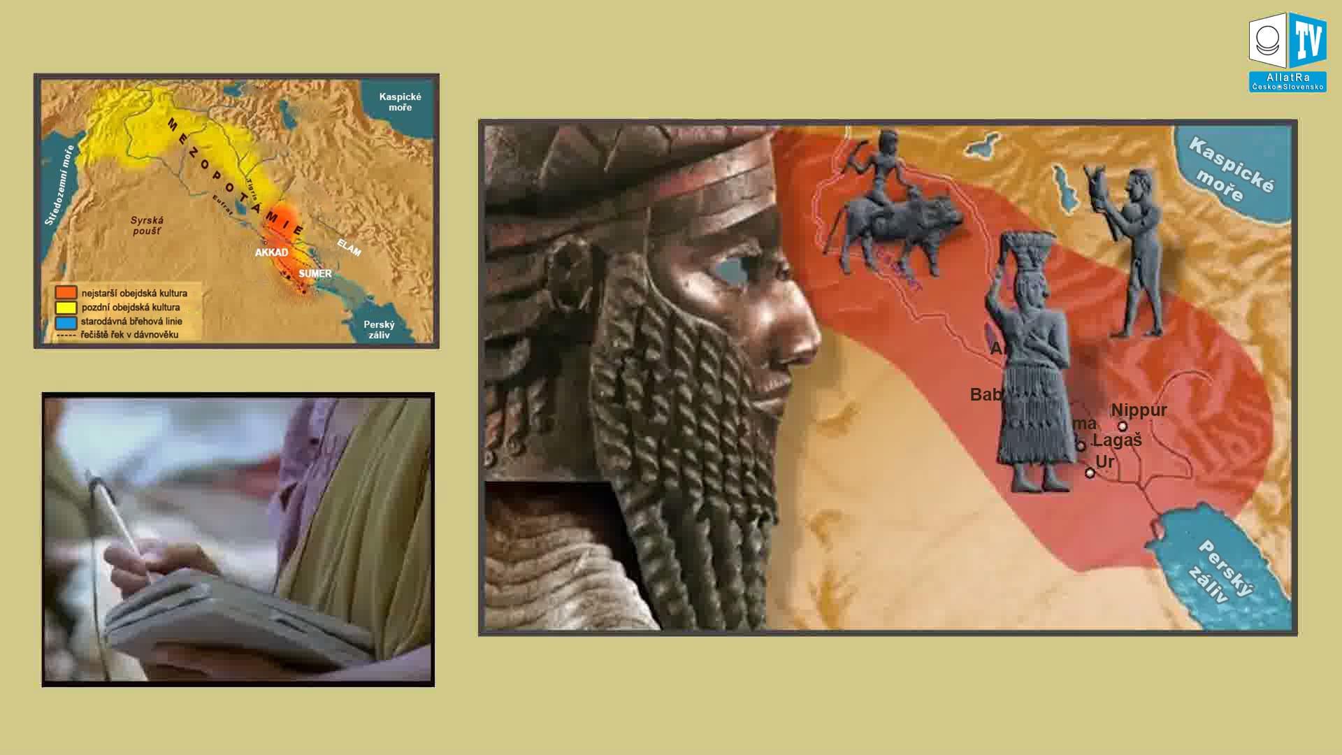 Ekonomické seznamy Mezopotámie. Foto