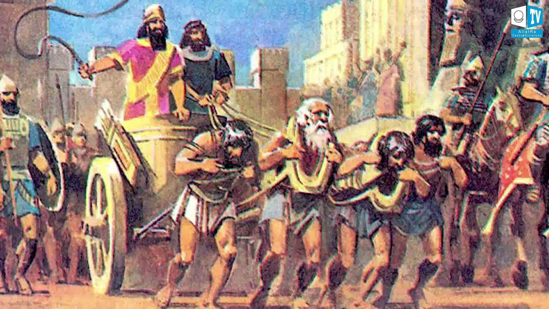 Utlačování národů ve starověku. Foto