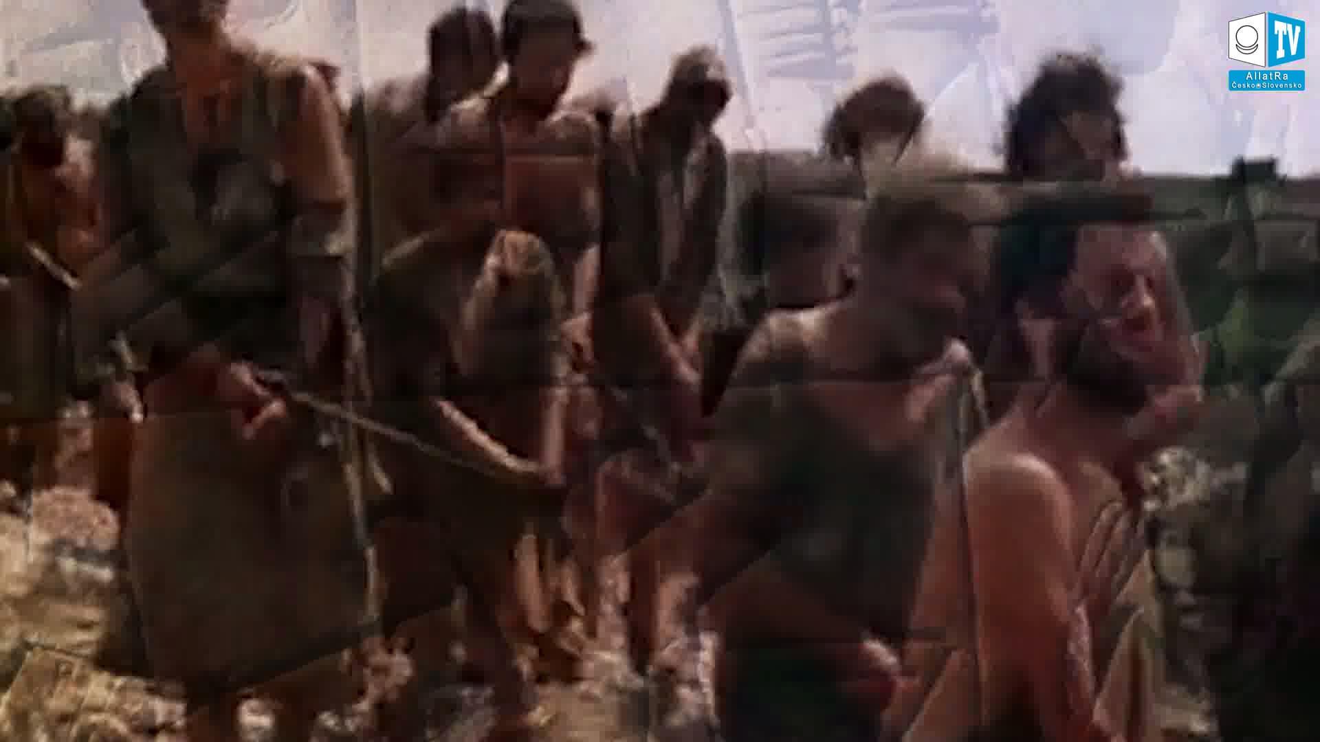 Pracovní síla - otroci. Foto