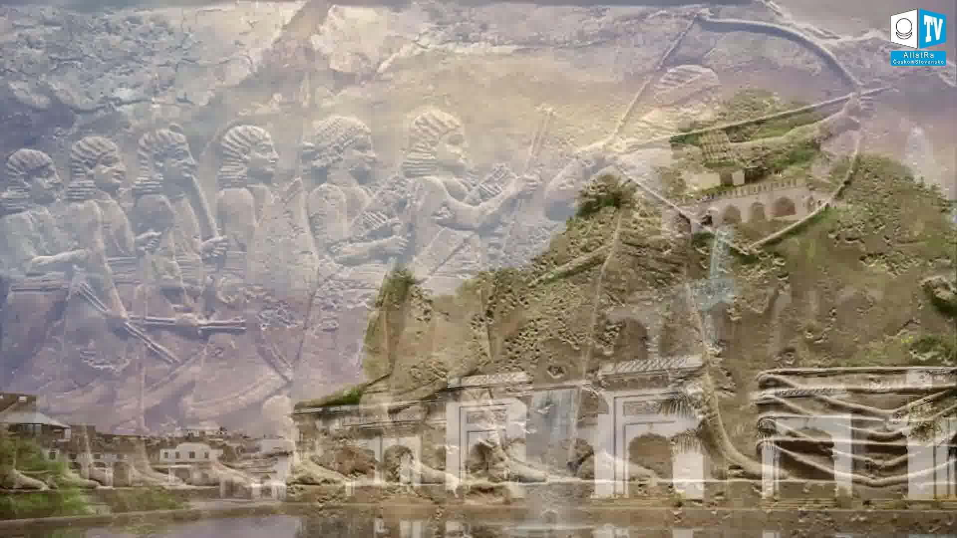 Cizí národy Mezopotámie. Foto