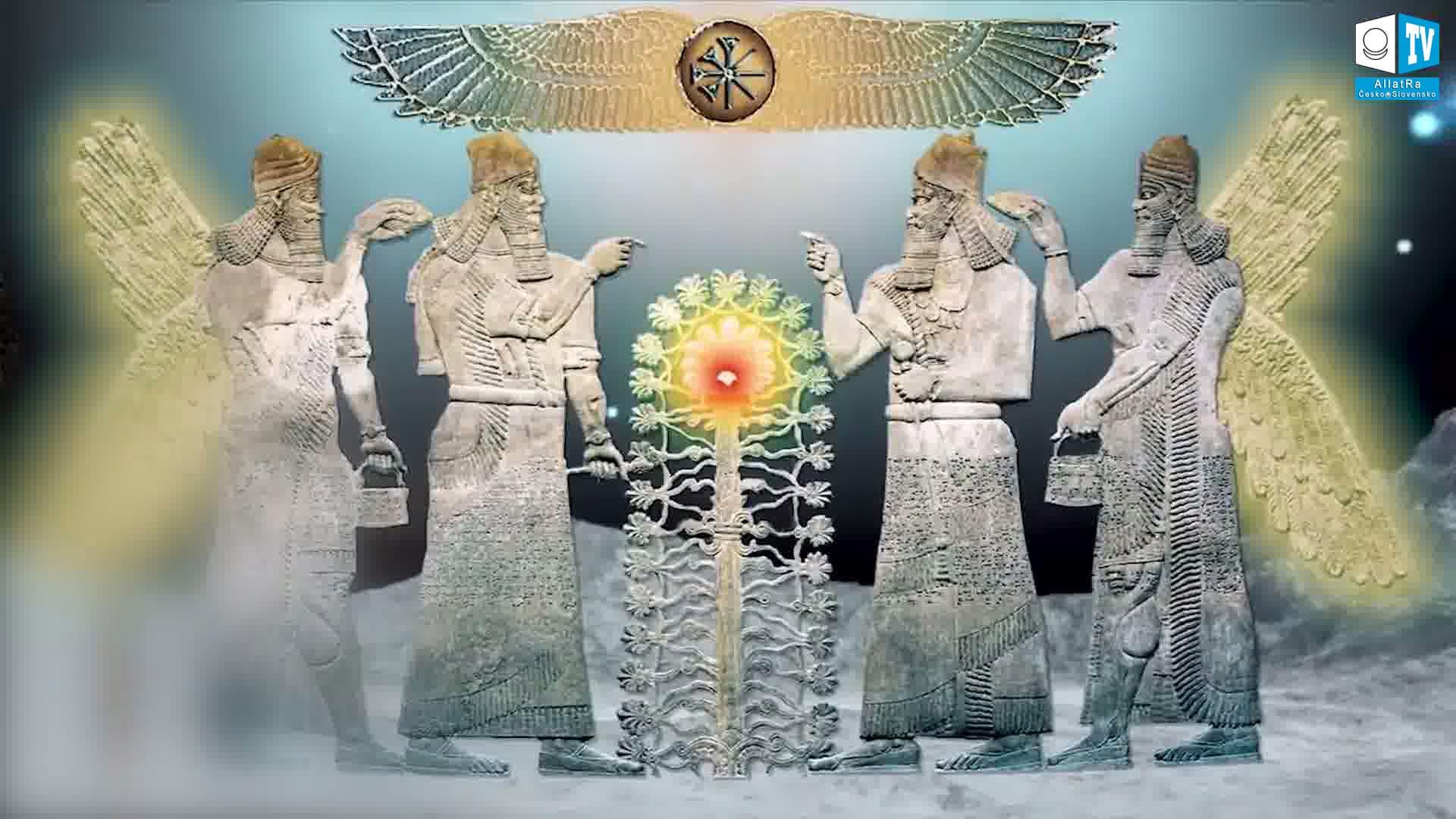 bůh Enlil (akkadsky Ellil). Foto