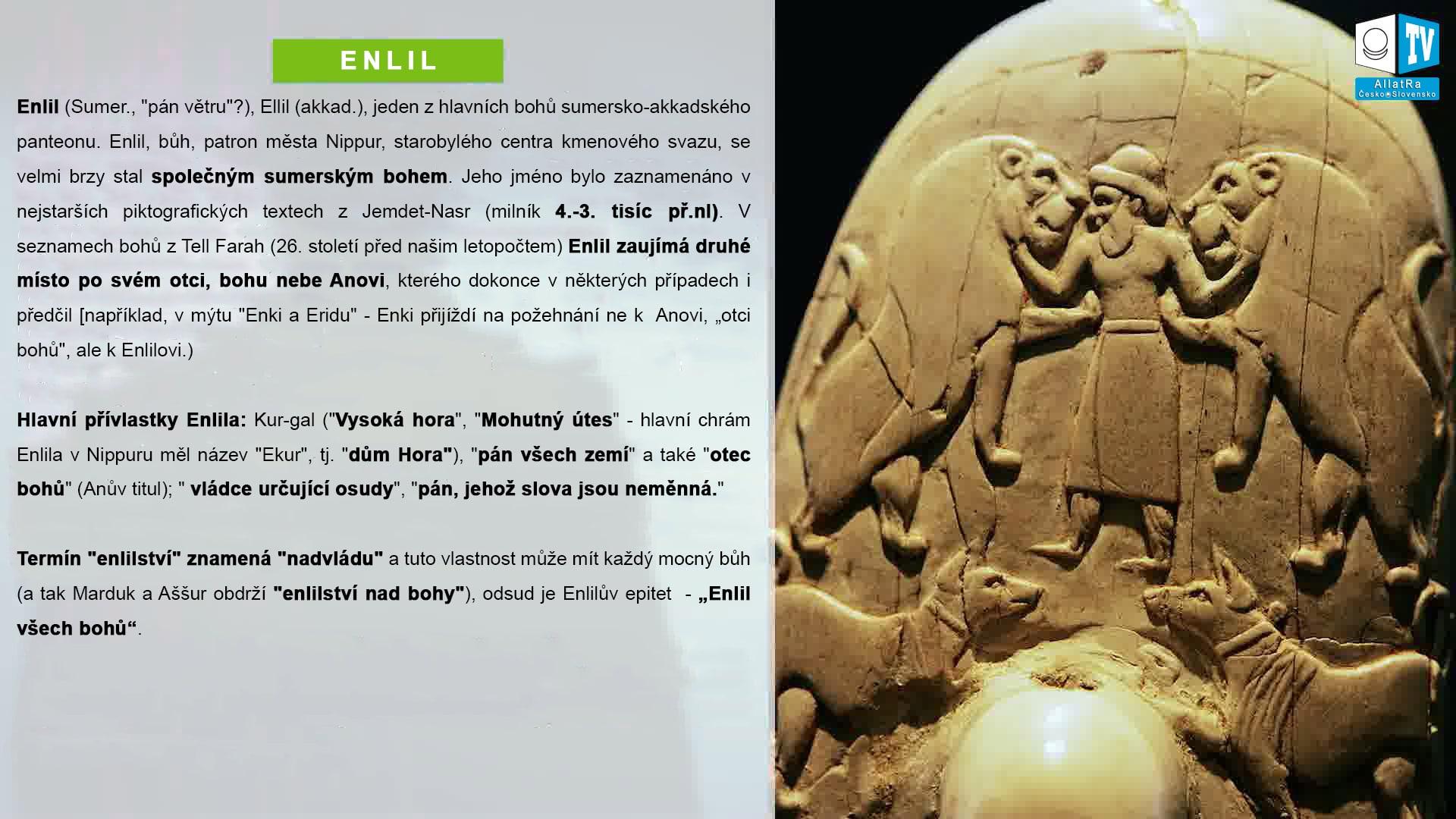 Enlil. Ahriman. Foto