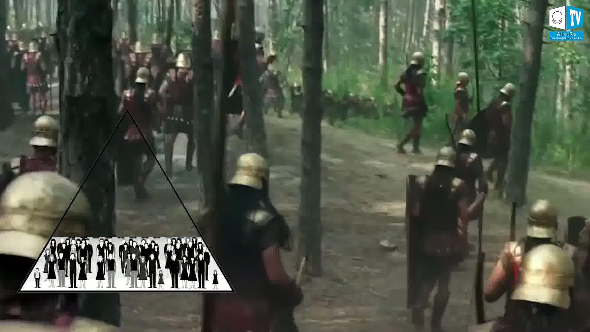 Starověká vojska. Foto