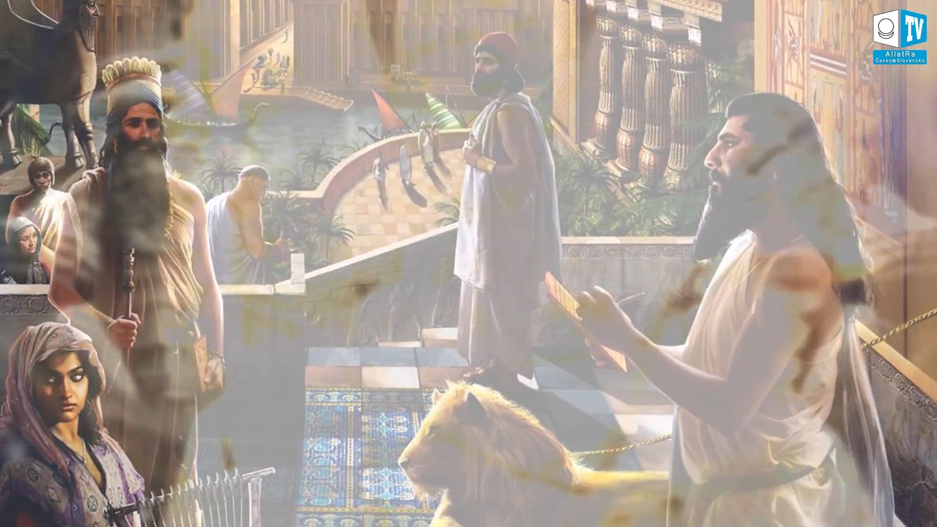 Odpuštění hříchů v chrámu Enlila. Foto