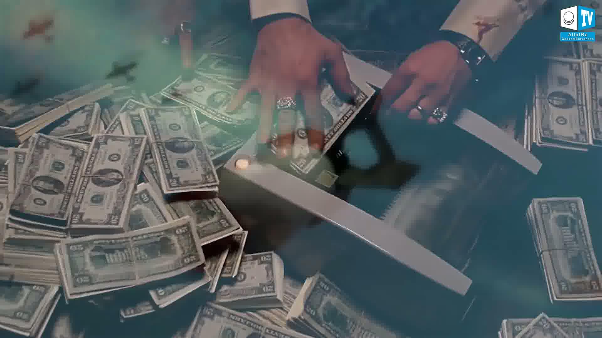 Světová moc peněz. Foto
