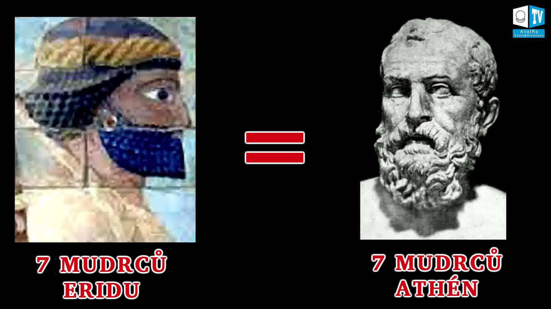 Sedm mudrců Atén. Foto