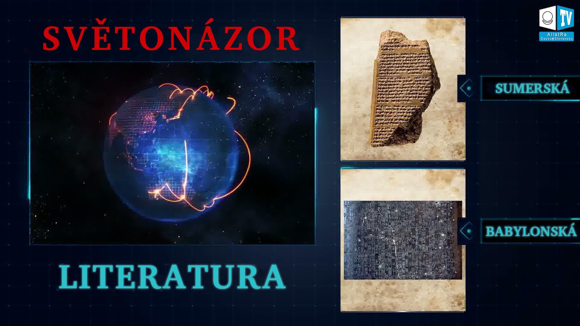 Literatura Babylonu a Sumeru. Foto
